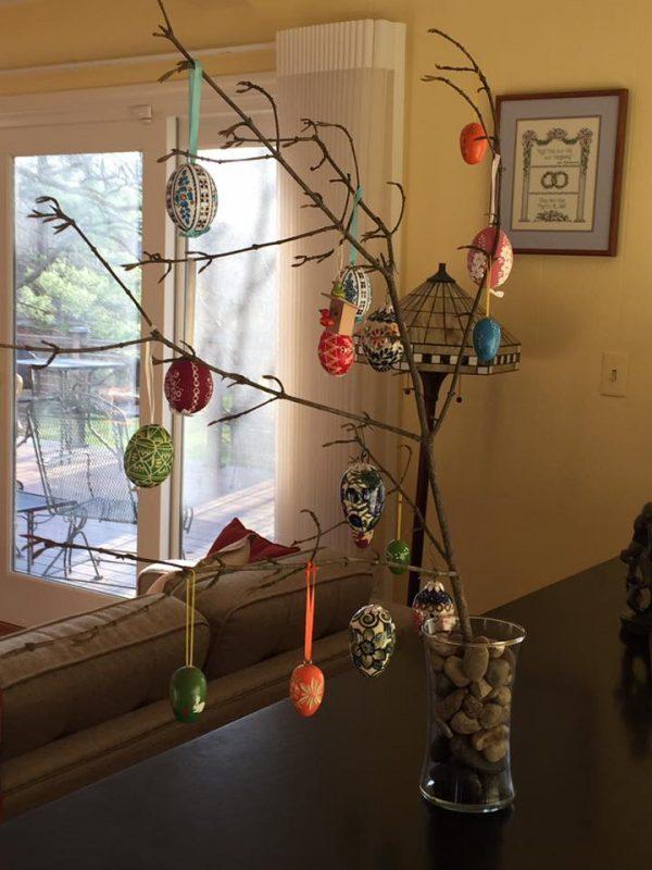 Celebrate Spring: Easter Egg Tree